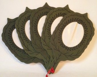 Antique Victorian Fan for Photos, Cards or Prints