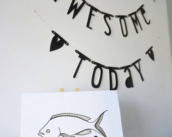Fishy fish print