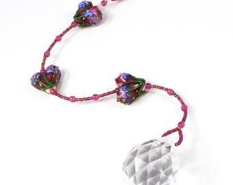 Window Crystal | Crystal Suncatcher | Rainbow Maker | Crystal Prism | Sun Catcher | Feng Shui Crystal | Solana Kai Designs | Portland Oregon