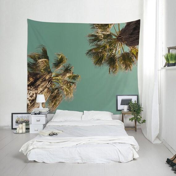 Beach Tapestries Palm Tree Decor Beach House Wall Art