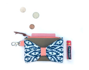Small Wallet, Small Change Purse, Card Wallet, Small Womens Wallet, Leather Keychain Wallet, Credit Card Wallet, Small Card Holder