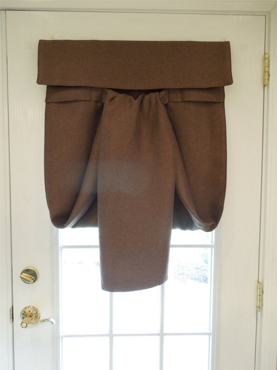 New Brown Blackout French Door Curtain Almost By Danidesignsco