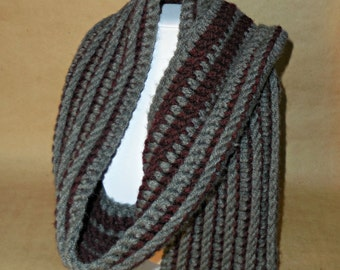 Double-Sided Manly Scarf