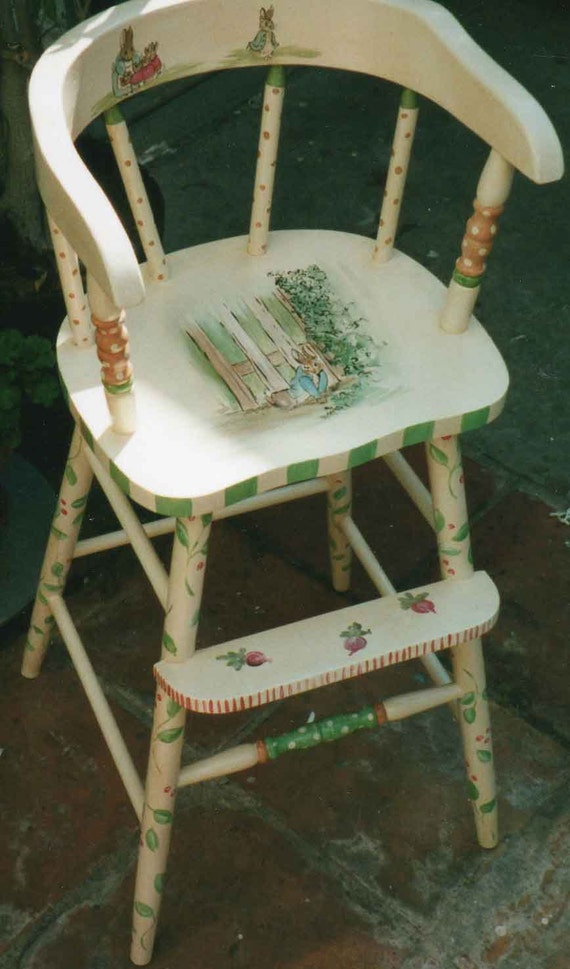 Hand Painted Baby High Chairs