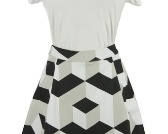 The A-line Skirt - Geotical