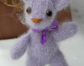 Fuzzy lilac bunny