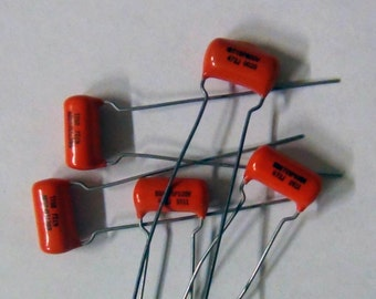Orange Drop Capacitor Lot of 5 715P 600V 472J .0047