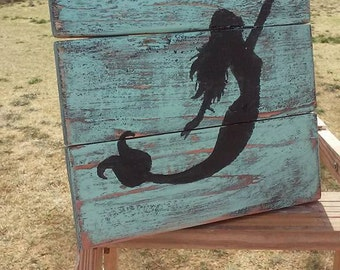 mermaid wall hanging, beach decor, beach, summer, mermaid, art, kids room, the little mermaid, mermaid tail, mermaid decor, home and living,