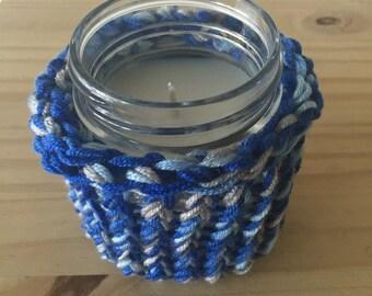 Mystery Candle - 8oz Mason Jar Eco-frienly with Organic Soywax