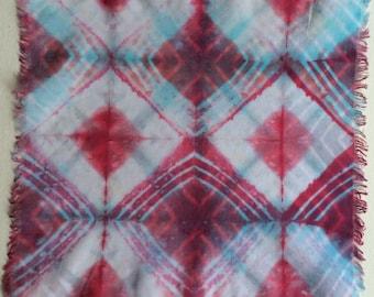 Dyamonds Hand-dyed Handkerchief, sku 1972