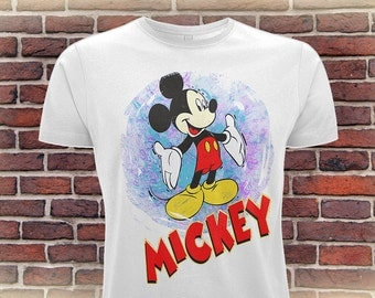 Mickey Mouse T Shirt, Adult Disney Shirt, Personalized Birthday T-Shirt, Gift Idea For Him Or Her, Disney Lover Tee,