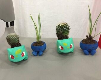 Pokemon Bulbasaur and Oddish Mini Planters Pokemon GO