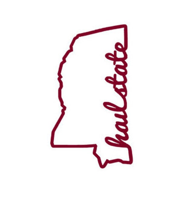 Hail State Mississippi Decal