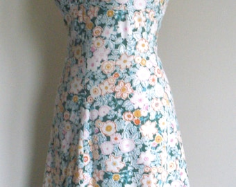1970's Betty Barclay Dress