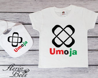 Umoja Principle - Kwanzaa Bodysuit - Toddler Tee Shirt - Kwanzaa Toddler T Shirt - Youth Tee Kwanzaa - KW1508