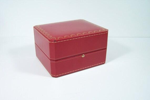 boite cartier crin coffret de montre cartier simili cuir. Black Bedroom Furniture Sets. Home Design Ideas