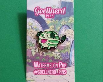 Steven Universe Watermelon Pup Pin Soft Enamel Kawaii Gifts