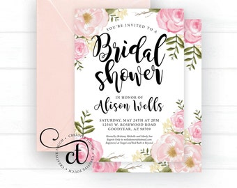 Bridal shower invite | Etsy