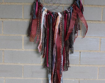 Dreamcatcher - Brown, Red, Burnt Orange - Urban Outfitters, Free People