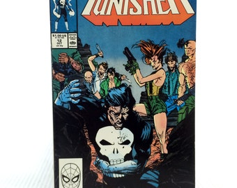 Vintage Punisher Comic Book Vol 2 Issue #12 Marvel October 1988 Copper Age