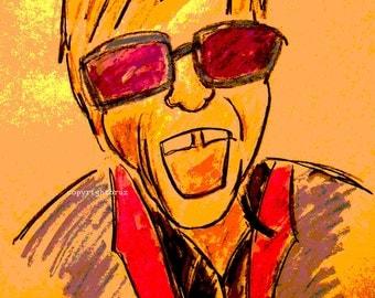 Elton John Poster various sizes