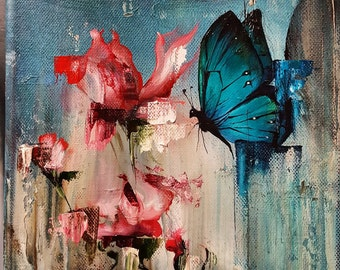Butterfly Blossom, Giclee Limited edition Print