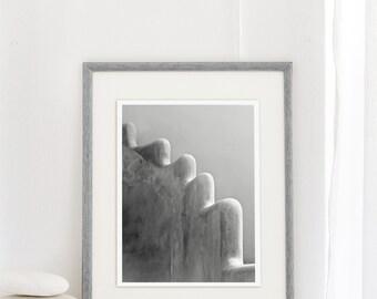 Art photograph, Abstract shape in black and white, Natural elements photo, Minimalist photo, Blanc et noir photo, 30x40 cm photo print