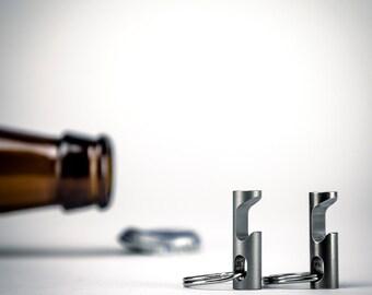 Keychain Bottle Opener -Stainless Steel EDC Tool