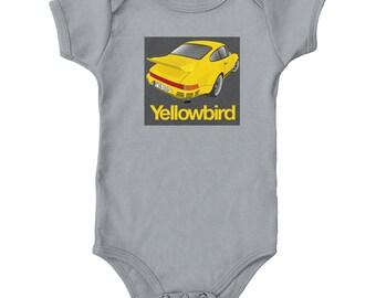 Porsche 911 Yellowbird Onesie