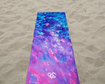 Low Tide Yoga Mat/Gift for her/Gifts for her/Yoga Mats/Yoga Mat/Yoga Accessories / Fitness Gift /Yoga Gift  / Gift Ideas