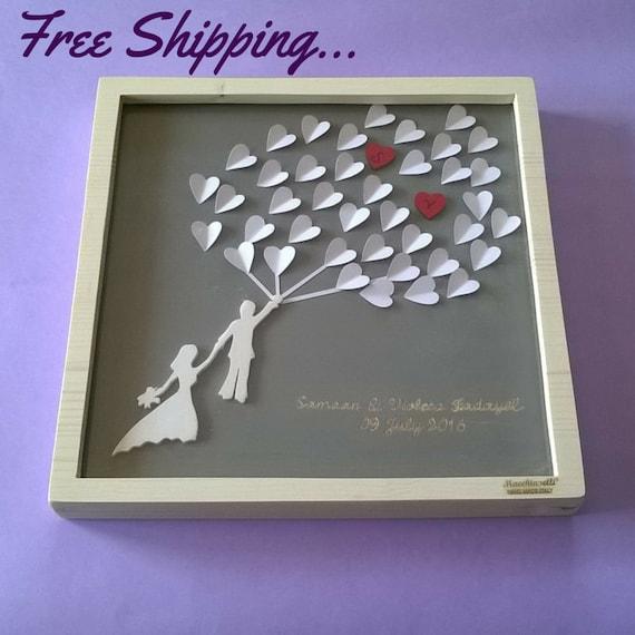 Wedding Gift Drop Box : ... gift drop box wedding dropbox personalized drop box frame drop box