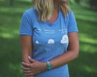 Cute Women's Cloud T-Shirt