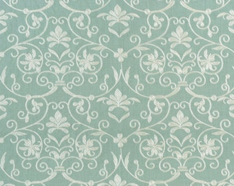Linen Drapes, Custom Curtains, Window Drapes, Embroidery Linen Fabric, Contemporary Pattern, *Flower Heart-Lacey* Made to order