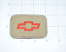 Chevrolet Bowtie Embroidered Vintage Clothing Patch - Automobile Racing Camaro Corvette Monte Carlo Impala Chevy Cruze Tahoe Tracker S-10 e6