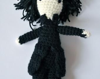Snape Amigurumi, Snape Crochet, Collectible, Harry Potter