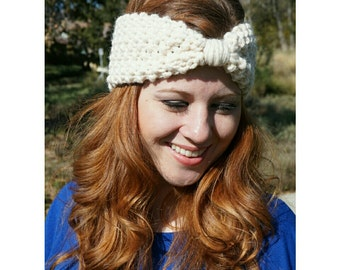 Knit Turban Headband / Ear Warmer