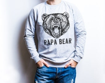 Papa bear sweatshirt dad gift for father gifts for dad gifts papa gifts papa sweatshirt fathers day gift sweatshirt men gifts for him