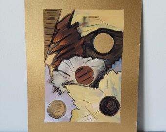 "Mixed Media Painting ""Texture 8"""