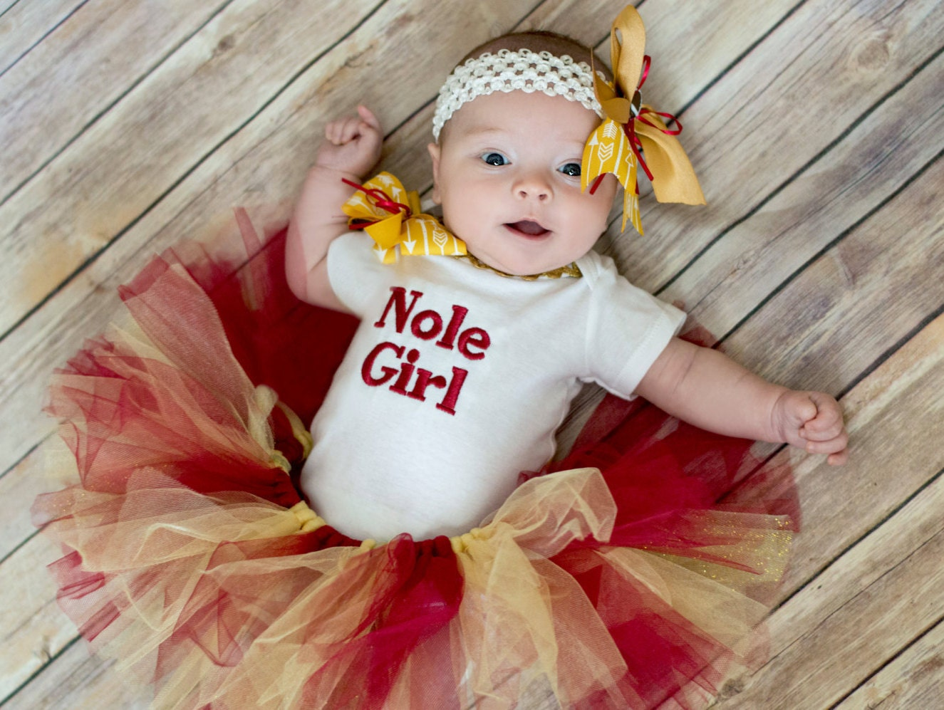 Florida state university baby girl outfit seminole baby girl outfit