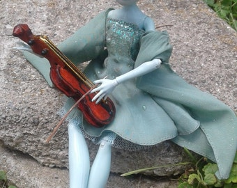 Anette Violinist - OOAK MH Doll