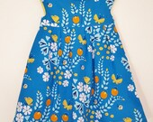 2T Geranium Dress (Organic Cotton)