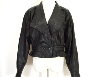 punk leather jacket – Etsy