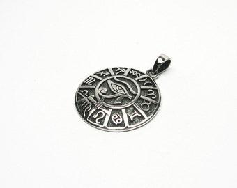 Horusauge Udjat eye Silver 925 Zodiac pendants