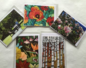 Greeting Cards set of 5