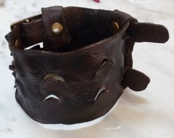 Leather bracelet  Bracelet wristband Cuff Leather Bracelet Bangle boho  leather bangle  Boho bracelet bohemian black bracelet  brown bangle