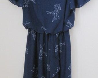 Vintage David Bradley Petite Dress