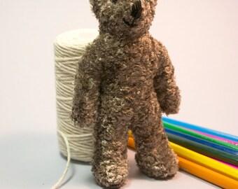 Pocket Teddy Bear by Toyberry Handmade. READY-TO-SHIP