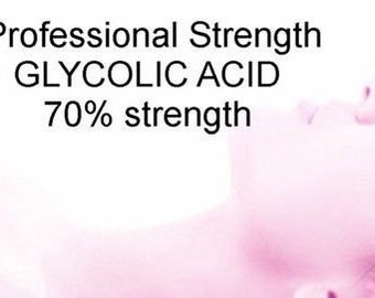 Wholesale GLYCOLIC ACID Bulk 70% Professional Strength Acne Wrinkles resurfacing 8 oz.