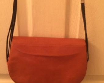Charles Jordan Caramel Leather Handbag