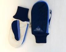 1970's Reusch ski unisex winter gloves